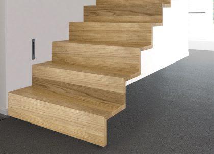 <strong>Zwevende trap met rechte treden</strong> (model 510Z)